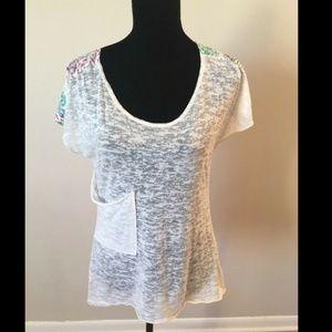 Roxy Ivory Short Sleeve T-shirt